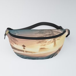 Morning on the road Fanny Pack