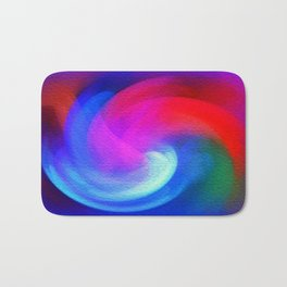 Fractal Abstract Bath Mat