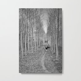 Little Human Artwork - + Metal Print