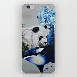 """Mother Nature's Yin&Yang"" iPhone Skin"