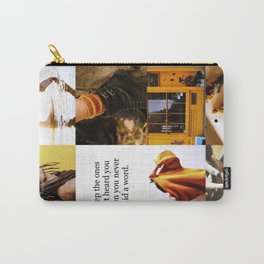 Hufflepuff Aesthetic Carry-All Pouch