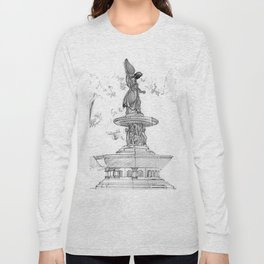Belvedere Fountain, Central Park, NY Long Sleeve T-shirt