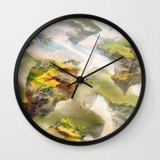Windswept Heath Wall Clock
