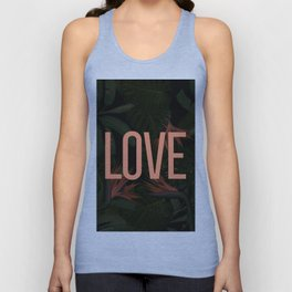 LOVE in the Forest Unisex Tank Top