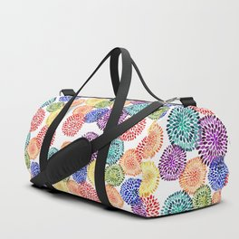 Dancing Dahlias Duffle Bag