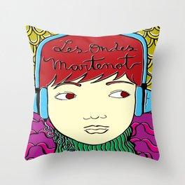 Les Ondes Martenot Throw Pillow