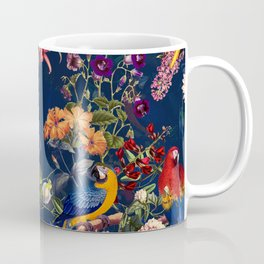 FLORAL AND BIRDS XII Coffee Mug