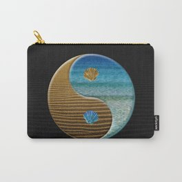 sand and water yin yang Carry-All Pouch