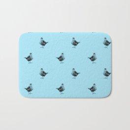 Bird in Blue Bath Mat
