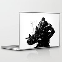 soldier Laptop & iPad Skins featuring War Soldier by Studio|19
