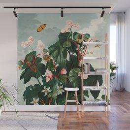 Robert John Thornton - The Oblique–Leaved Begonia Wall Mural