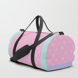 Gamer Girl - Pastel Playstation Controller Buttons Duffle Bag