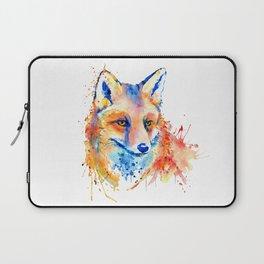 Cute Fox Head Laptop Sleeve