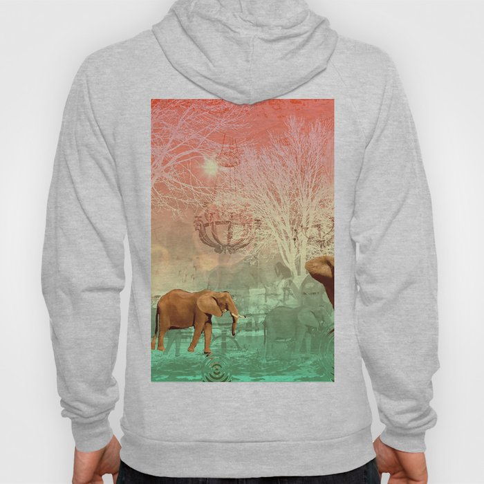 Elephants in the Ballroom Hoody