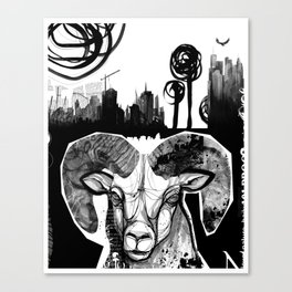 Ram City Canvas Print