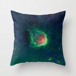 Beautiful Space Nebula Throw Pillow