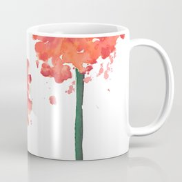 2 abstract geranium flowers Coffee Mug