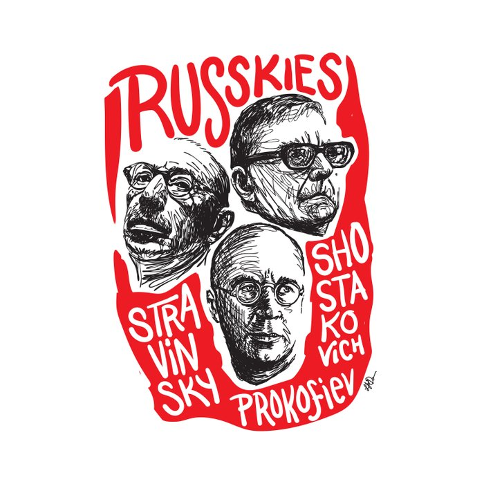 Russkies-Russian composers Comforters