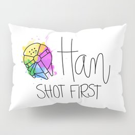 Han Shot First Pillow Sham
