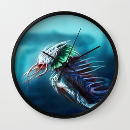 Sea Creature Wall Clock