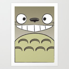 My Neighbor Totoro3 Art Print