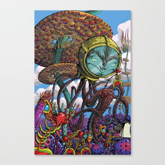 Otherworldly Ecologist Canvas Print