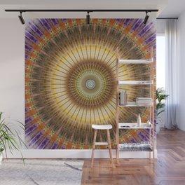 Mandala radiant power Wall Mural