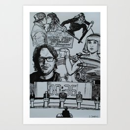 February 2014 Art Print