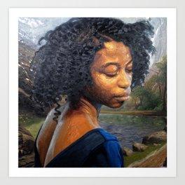 """Breathe"" Art Print"