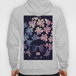 Afro Diva Mauve Teal Galaxy Hoody