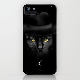 WITCHY CAT iPhone Case