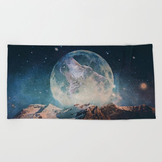 Lake Moon Beach Towel