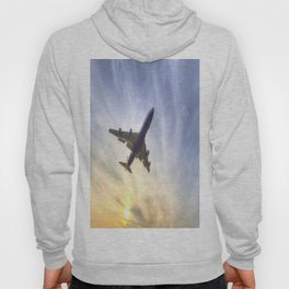Boeing 747 Sunset  Hoody