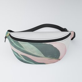 Pink Leaves II Fanny Pack