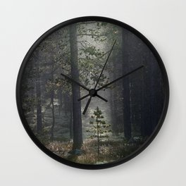 Patience (Norwegian Forest) Wall Clock