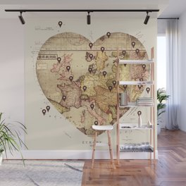 Love to Travel Wall Mural