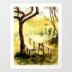 Wineyards Art Print