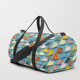 Happy Hippo Family Duffle Bag