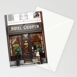 Hôtel Chopin Grands-Boulevards Paris Stationery Cards