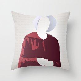Nolite Te Bastardes Carborundorum Offred Throw Pillow