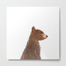 little bear Metal Print