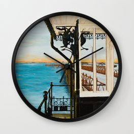 Ryde Pier and Shelter Wall Clock