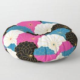 Japanese Chrysanthemum 2 Floor Pillow
