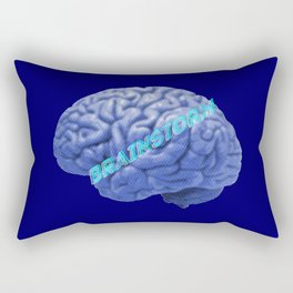 Brainstorm Rectangular Pillow