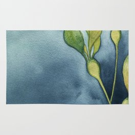 Bull Kelp Watercolor Rug