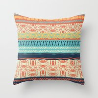friday Throw Pillows featuring Friday by Monty