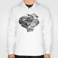 middle earth Hoodies featuring Middle Earth New Zealand by Guiso