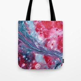 SONIC BOOM | Fluid abstract art by Natalie Burnett Art Tote Bag