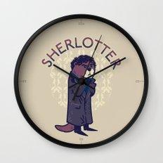 Sherlotter Wall Clock