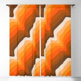 Golden Wave Blackout Curtain